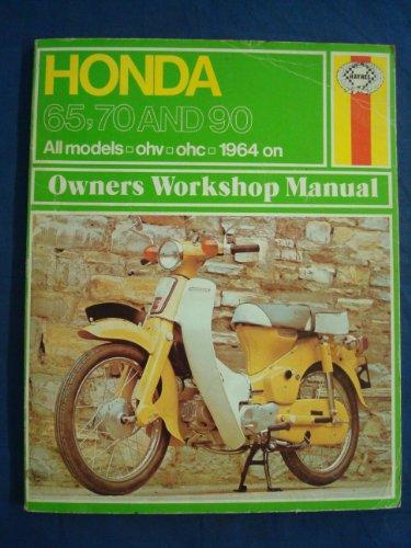 9780856961168: Honda 65, 70 and 90 Owner's Workshop Manual (Haynes owners workshop manuals for motorcycles)