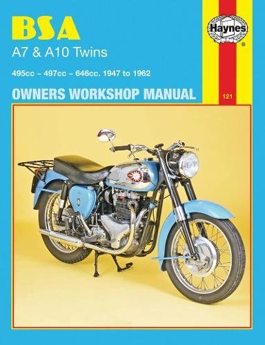 9780856961212: BSA A7 & A10 Twins 1947 - 1962 (Motorcycle Manuals)