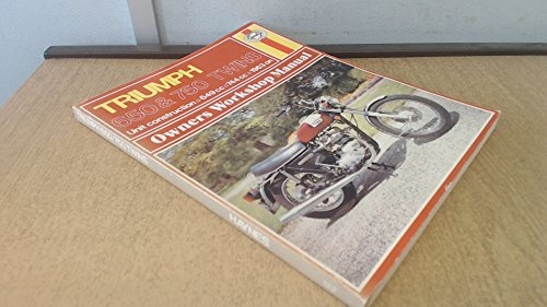 9780856961229: Triumph 650 and 750 Twins Owner's Workshop Manual (Haynes owners workshop manuals for motorcycles)