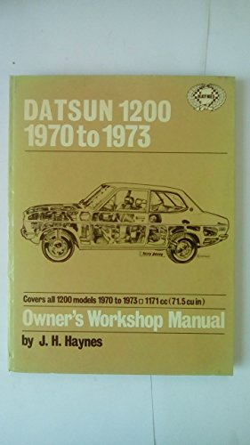 9780856961243: Datsun 1200 Owner's Workshop Manual (Haynes owner's workshop manual series)
