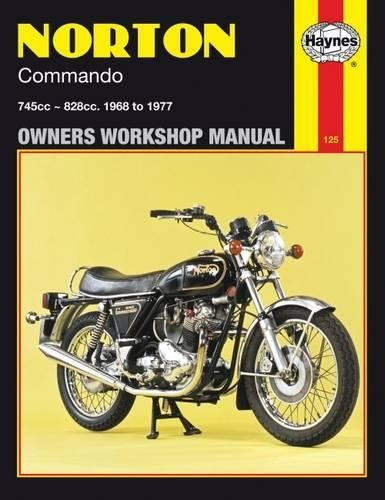 9780856961250: Norton Commando Owners Workshop Manual: 745cc, 828cc, Thru 68-77 (Haynes Repair Manuals)