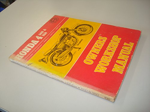 Honda 450 and 350 Owner's Workshop Manual (0856961329) by Reynolds, Michael