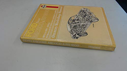 9780856961397: Ford Escort Mexico and RS1600 Owner's Workshop Manual