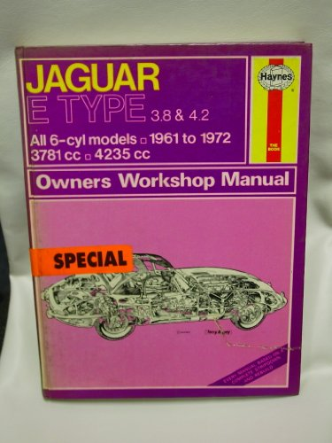 9780856961403: Haynes Jaguar E Type 3.8 & 4.2 Owners Workshop Manual No 140: 1961 1972 (Haynes Owners Workshop Manuals)
