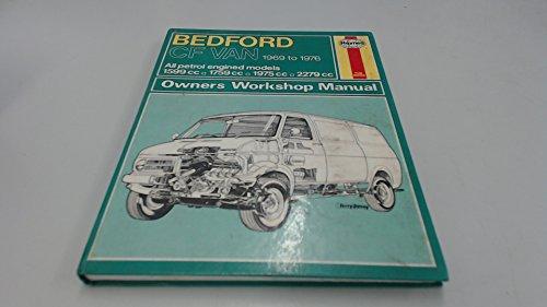 9780856961632: Bedford CF Van Owner's Workshop Manual