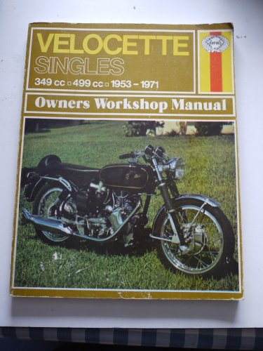 Velocette Singles Owner's Workshop Manual (0856961868) by Jeff Clew