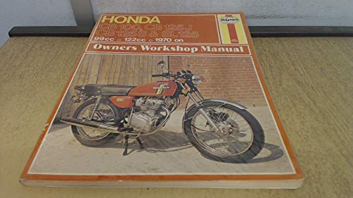 9780856961885: Honda 100/125 Single Cylinder Models Owners Workshop Manual, 1970 to 1976 (Motorcycle Manuals)