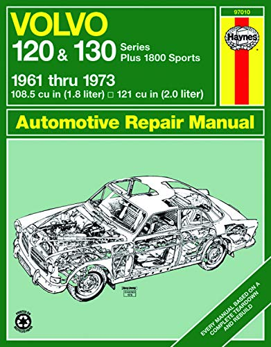 9780856962035: Volvo 120 and 130 Series and 1800 Sports, 1961-1973 (Haynes Manuals)