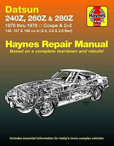 9780856962066: Datsun 240Z, 260Z, and 280Z, 1970-78 (Haynes Repair Manuals)