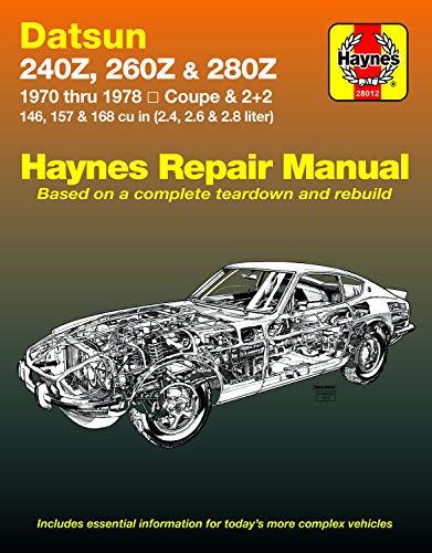 9780856962066: Datsun 240Z/260Z Owner's Workshop Manual (USA service & repair manuals)