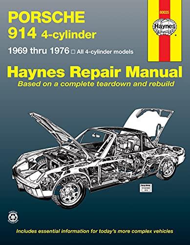 9780856962394: Porsche 914 (4-cyl.), 1969-1976