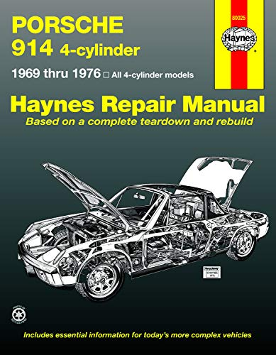9780856962394: Porsche 914 4-cylinder Automotive Repair Manual, 1969-1976 (Haynes Automotive Repair Manual )