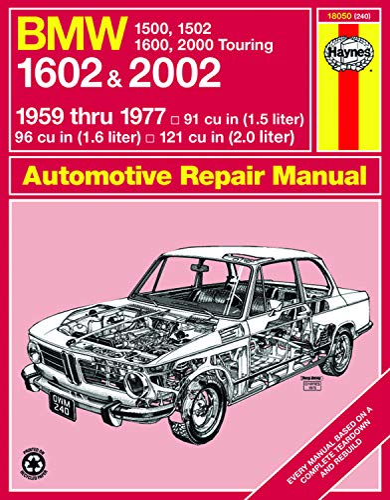 9780856962400: BMW 1602 and 2002 Haynes Workshop Manual (Classic Reprints Series: Owner's Workshop Manual)