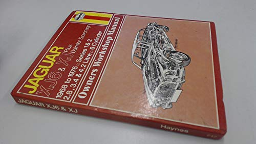 9780856962424: Jaguar XJ6 Owner's Workshop Manual
