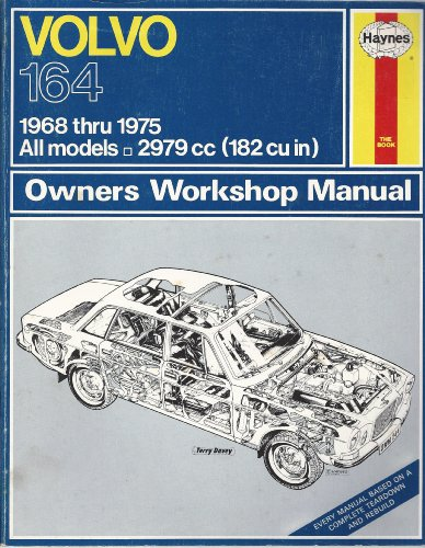 9780856962448 volvo 164 owner s workshop manual haynes owners rh abebooks co uk