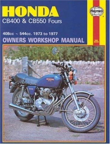 9780856962622: Honda CB400 and CB550, 1973-77 (Owners' Workshop Manual) (Haynes Repair Manuals)