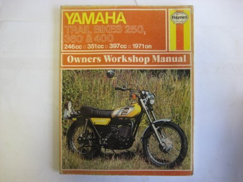 Yamaha Trail Bikes 250, 360 and 400 Owner's Workshop Manual (0856962635) by Mansur Darlington