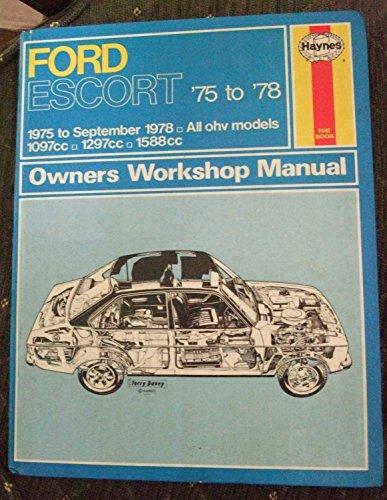ford escort owners workshop manual by j h haynes abebooks rh abebooks co uk Ford Focus Ford Focus