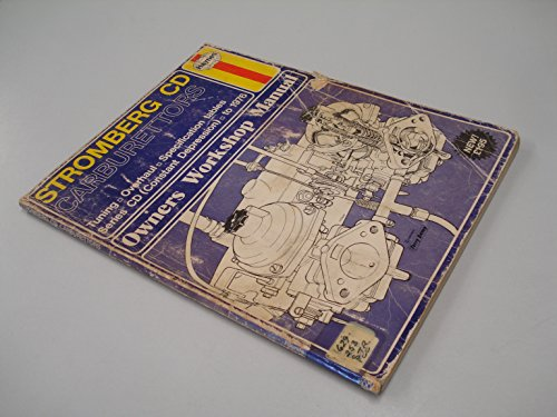 9780856963001: Stromberg CD Carburettors Owner's Workshop Manual (Haynes owners workshop manuals)