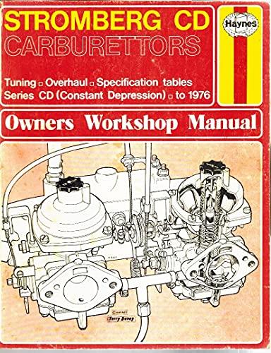 9780856963001: Stromberg CD Carburettors Owner's Workshop Manual