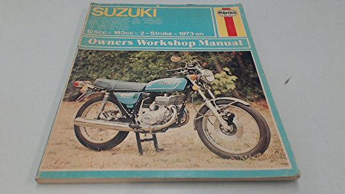 9780856963018: Suzuki Gt 125 and Gt 185 Owners Workshop Manual (Haynes owners' workshop manuals for motorcycles)