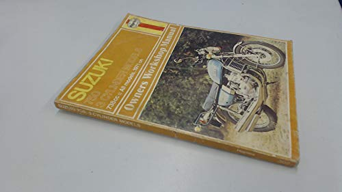 Suzuki Gt 750 3 Cylinder Models 1971-1977 (Owners Workshop Manuals Series, No 302) (085696302X) by Jeff Clew