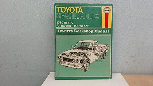 9780856963049: Toyota Hi-lux and Hi-ace Owner's Workshop Manual (Haynes owners workshop manuals)