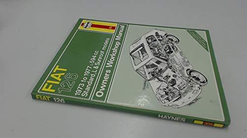 9780856963056: Fiat 126 Owner's Workshop Manual