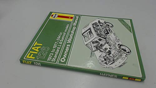 9780856963056: Fiat 126 Owner's Workshop Manual