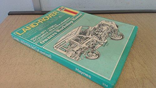 Land Rover Owner's Workshop Manual (Haynes owners: Haynes, J. H.;