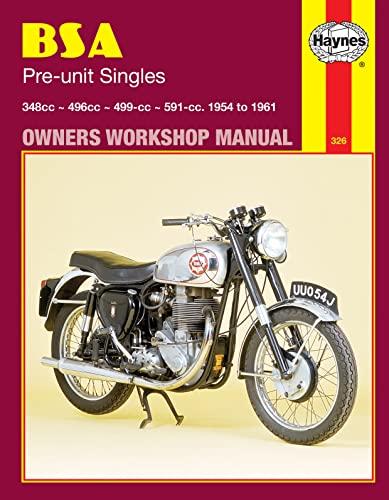 9780856963261: BSA Preunit Singles, 1954-61 (Haynes Repair Manuals)