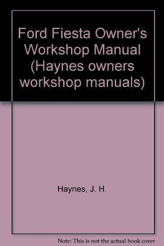 owners workshop manual ford fiesta