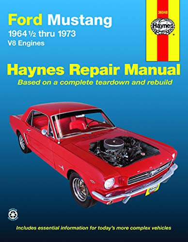 9780856963575: Ford Mustang V8 Automotive Repair Manual: 1964 1/2 Thru 1973