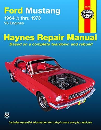 9780856963575: Ford Mustang V8 Automotive Repair Manual: 1964 1/2 Thru 1973