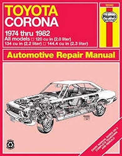 Toyota 2000 ('75 to '77): Haynes, J. H.; Ward, Peter