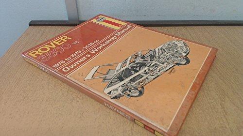 Rover 3500 V8 Owner's Workshop Manual (Haynes: Barge, Colin D.