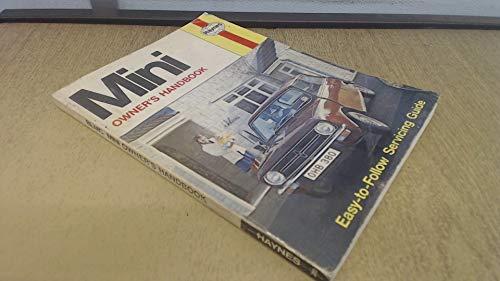 Leyland Mini Owner's Handbook/Service Guide (0856963801) by J. H. Haynes; A. K. Legg