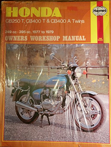 Honda CB250T and 400T Twins Owner's Workshop Manual (Haynes owners workshop manuals for motorcycles) (0856964298) by Mansur Darlington