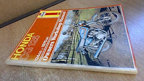 9780856964336: Honda CG125 Owner's Workshop Manual (Haynes owners workshop manuals for motorcycles)