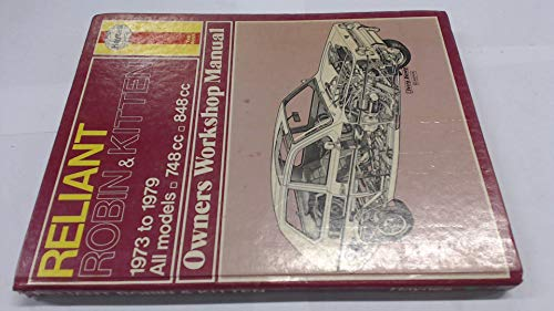 9780856964367: Reliant Robin and Kitten Owner's Workshop Manual