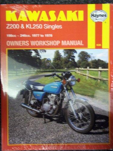 9780856964381: Kawasaki Z 200 and Kl 250 Owners Workshop Manual, 1977