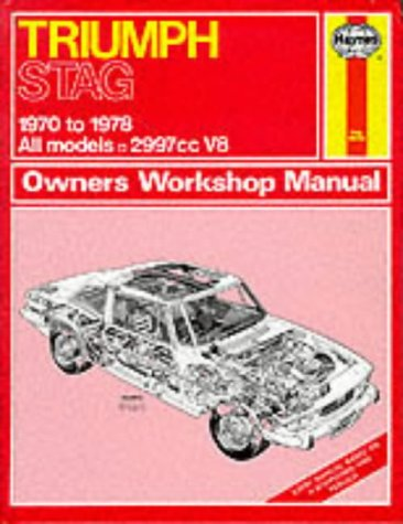 9780856964411: Triumph Stag Owner's Workshop Manual (Service & repair manuals)