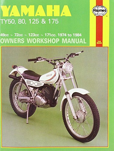 9780856964640: Yamaha Ty50, 80, 125 and 175 Owners Workshop Manual (Motorcycle Manuals)