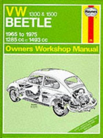 Volkswagen Beetle 1300/1500 Owner's Workshop Manual (Service: Stead, D. H.
