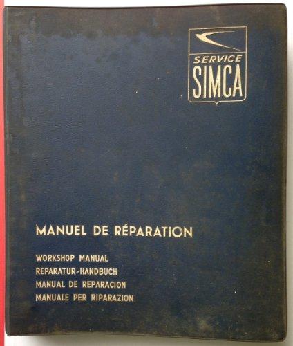 9780856964978: Simca 1000 1962-79 All Models Owner's Workshop Manual