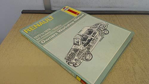 9780856965036: Renault 12 Owner's Workshop Manual