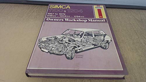 9780856965074: Simca 1100, 1204 Owner's Workshop Manual (Service & repair manuals)