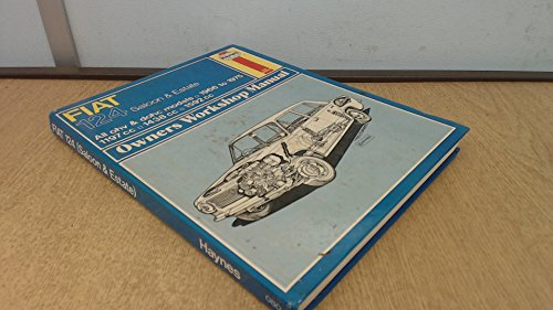 9780856965081: Fiat 124 Owner's Workshop Manual (Service & repair manuals)