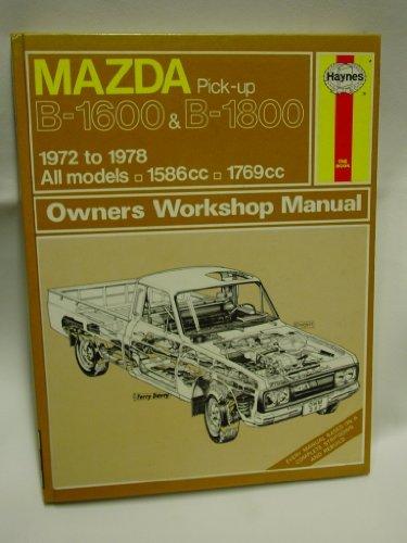 Mazda B1600 B1800 198: Haynes