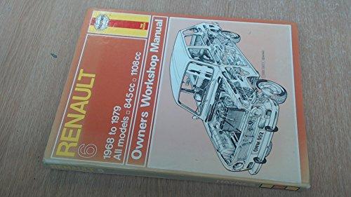 9780856965128: Renault 6 Owner's Workshop Manual (Service & repair manuals)
